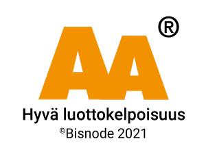 AA hyvä luottokelpoisuus 2021