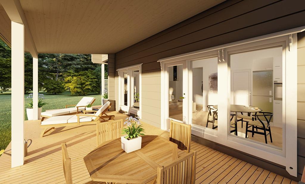 Lapinsaari terrace