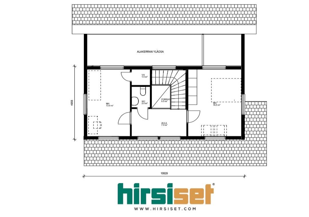 Hirsiset Oulujoki-sarja Leppiniemi 139/124