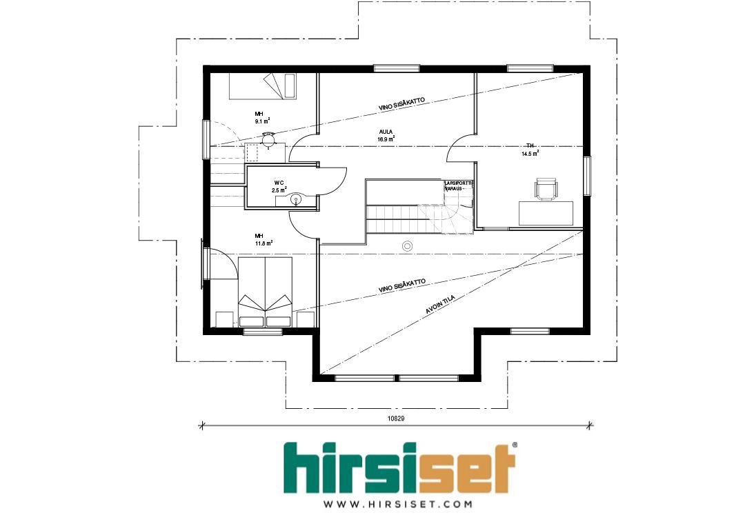Hirsiset Oulujoki-sarja Pyhäkoski 139/124