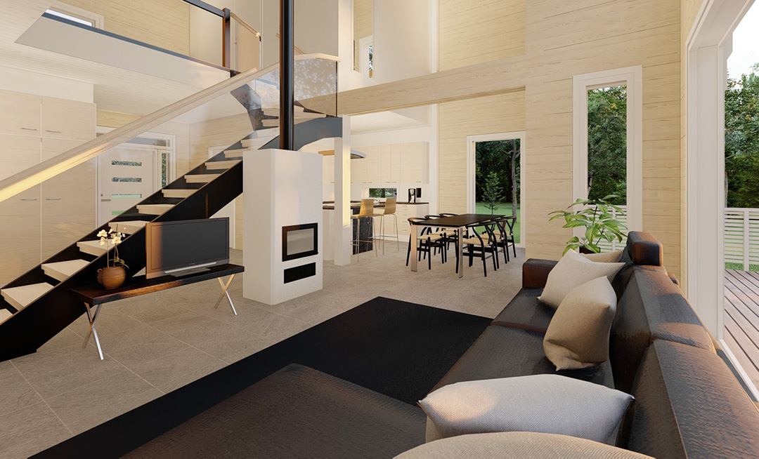 Pyhäkoski olohuone living room