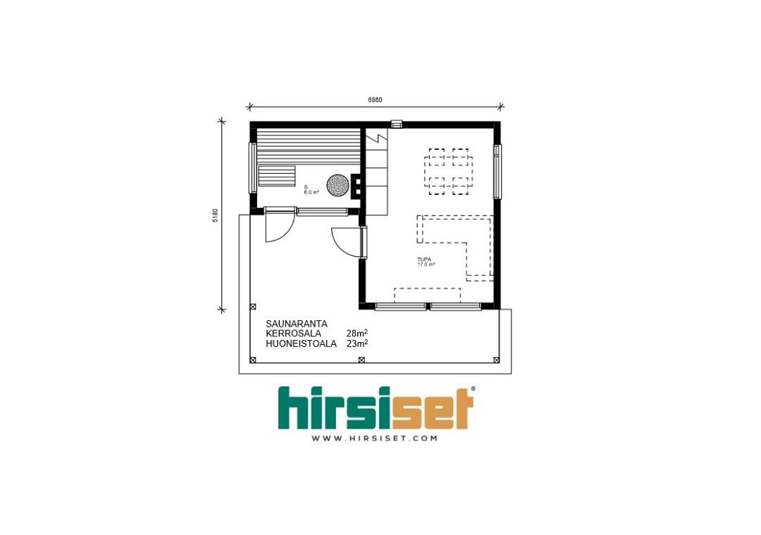Hirsiset Oulujoki-sarja Saunaranta 28/23