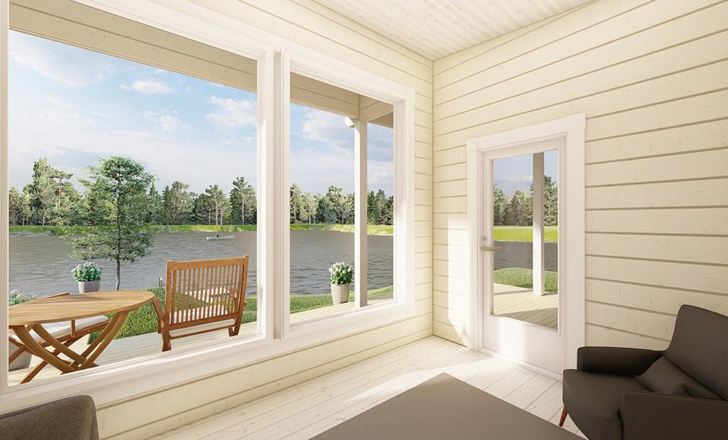 Saunaranta livingroom