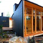 Log House Villa Valtanen outside