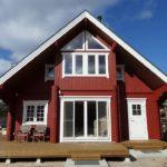 hirsiset log house in japan